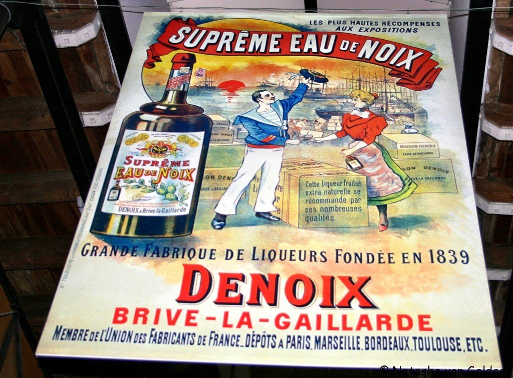 Denoix distillery in Brive la Gaillarde, France