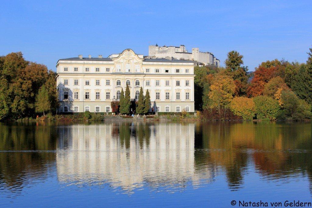 Schloss Leopoldskron and Hohensalzburg Castle