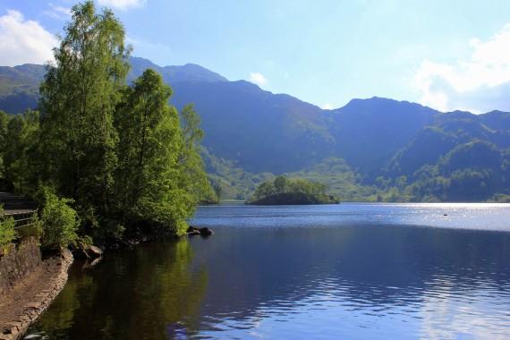 Loch Katrine, The Trossachs, Scotland