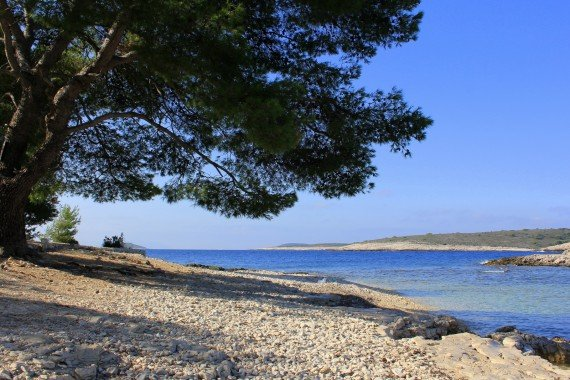 Pakleni Islands beach, Croatia