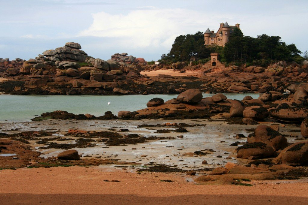 France, Brittany's Pink Granite Coast walk