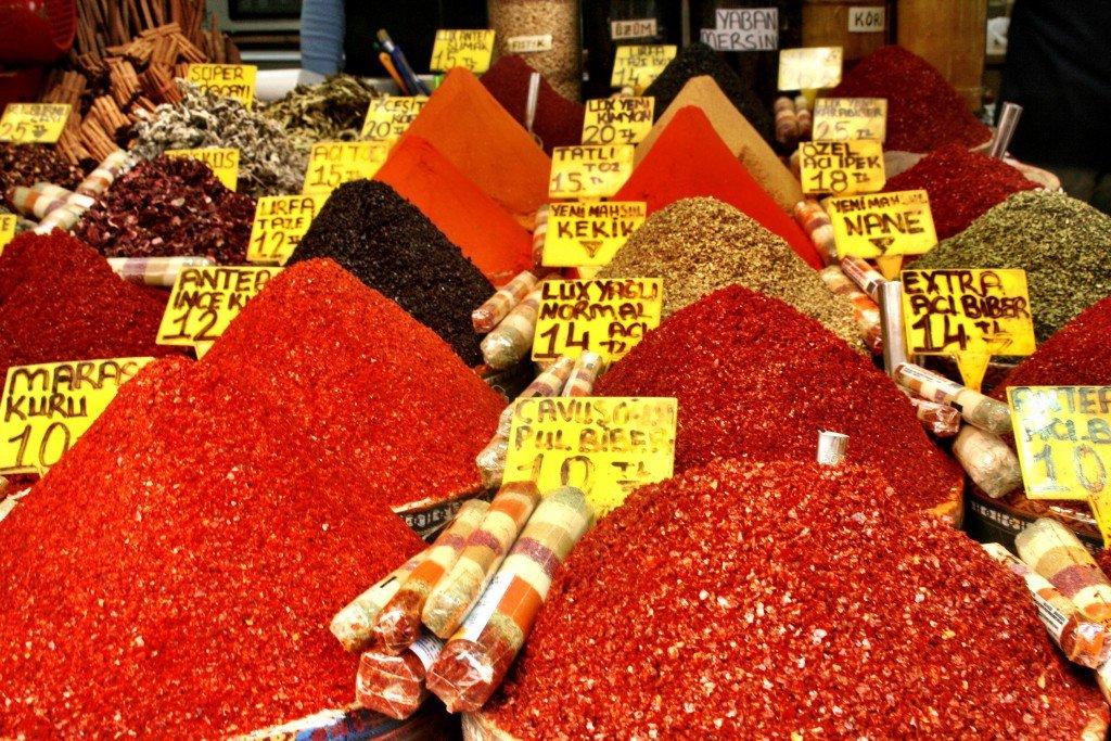 Great Bazaar Istanbul spice market
