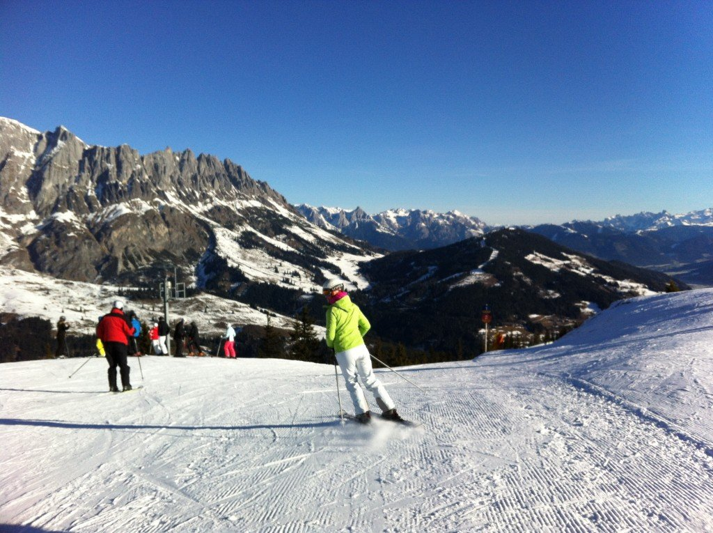 Hochkonig - skiing in Austria