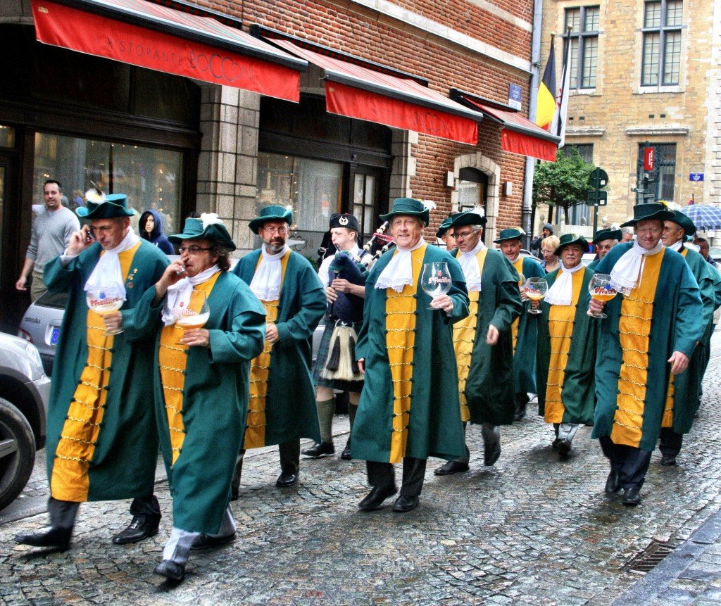 Parades at the Belgian Beer Weekend