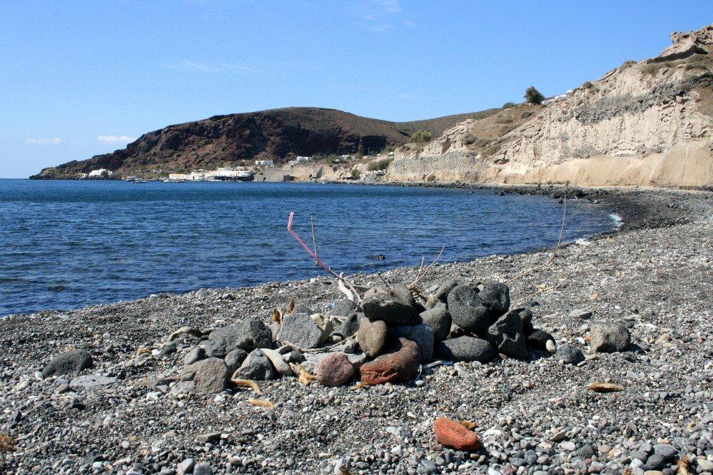 South coast of Santorini