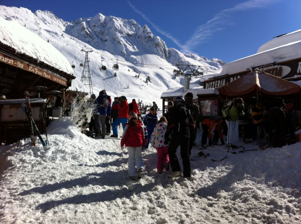 Belle Plagne ski holiday, France