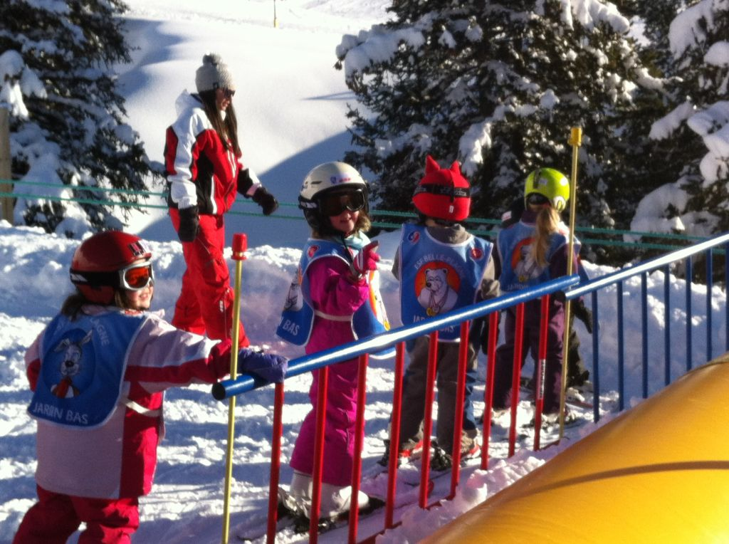 French Ski School in Belle Plagne