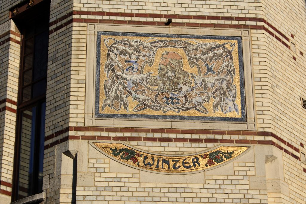 Zurenborg district Antwerp, Belgium