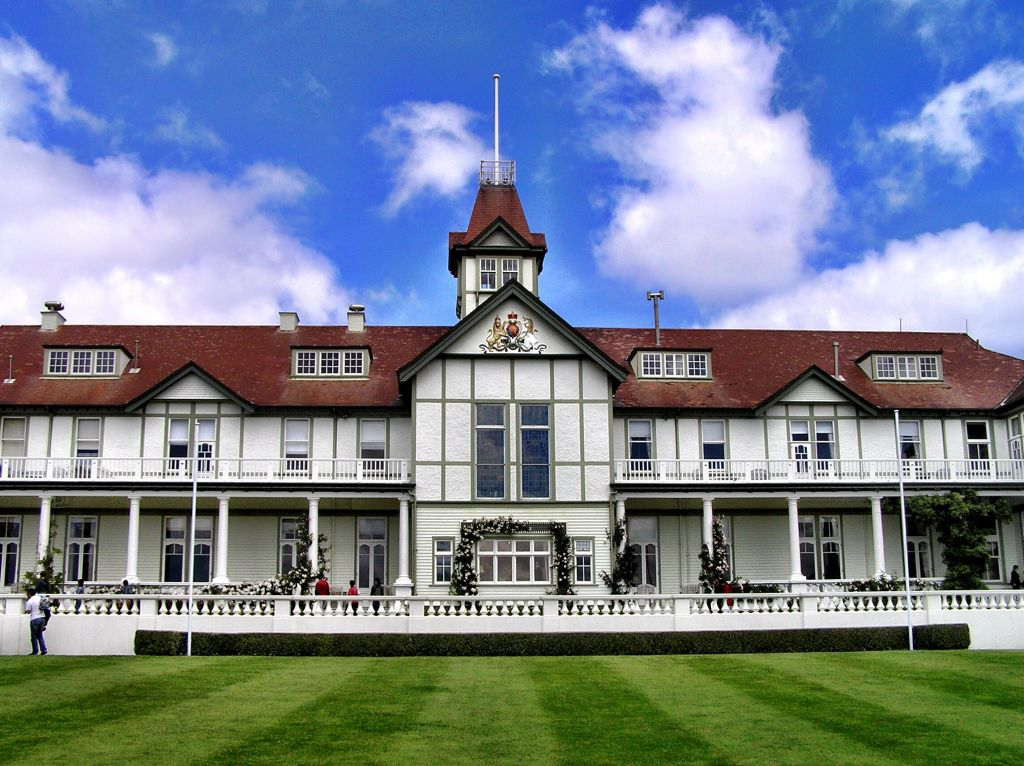 Government House in Wellington New Zealand