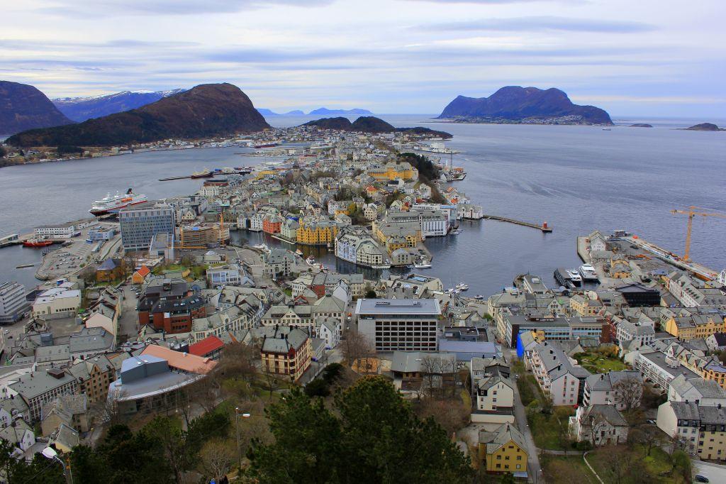Alesund, Norway Coastal Voyage