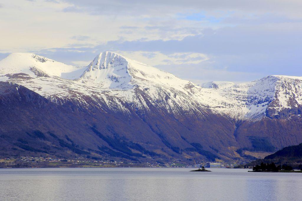 Mountains on the Norway Coastal Voyage