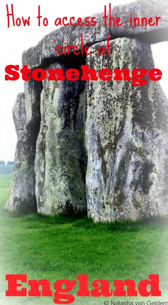 Access the inner circle at Stonehenge, United Kingdom