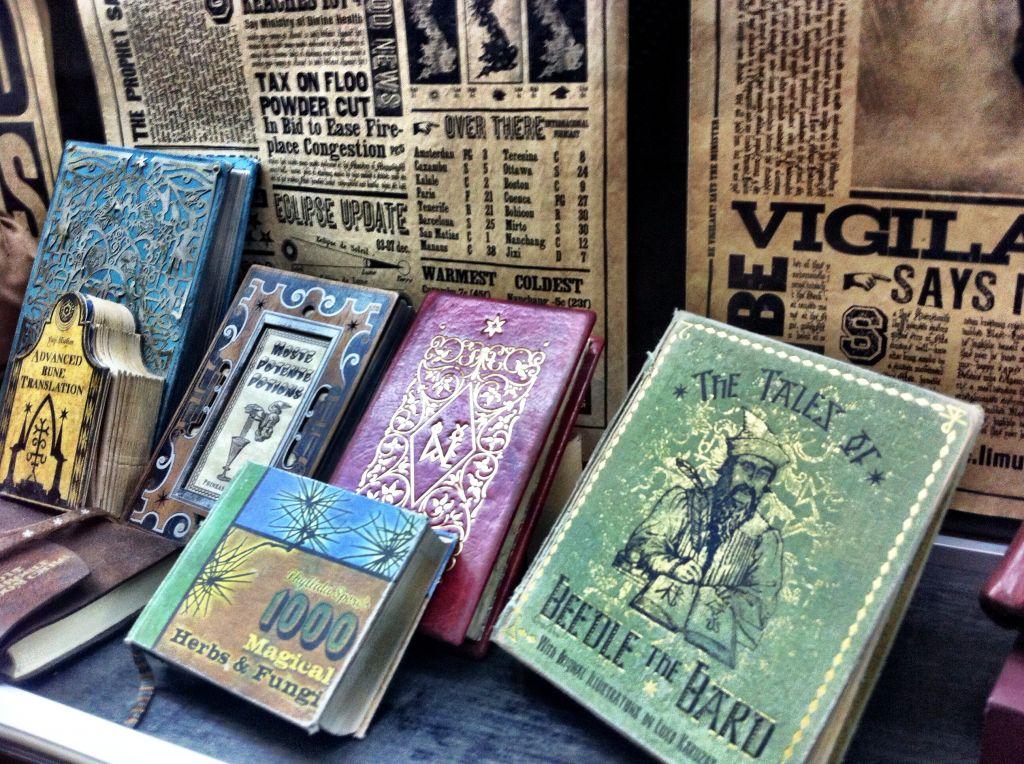 Books of Magic Harry Potter Studio Tour