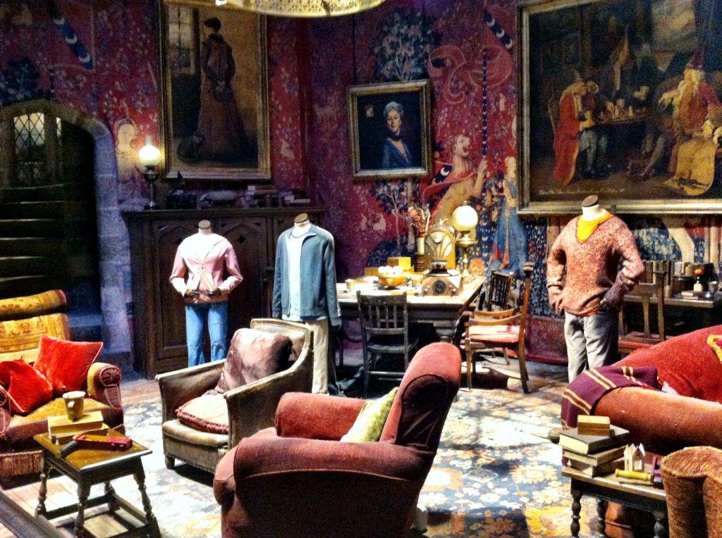 Gryffindor Common Room Harry Potter Studio Tour