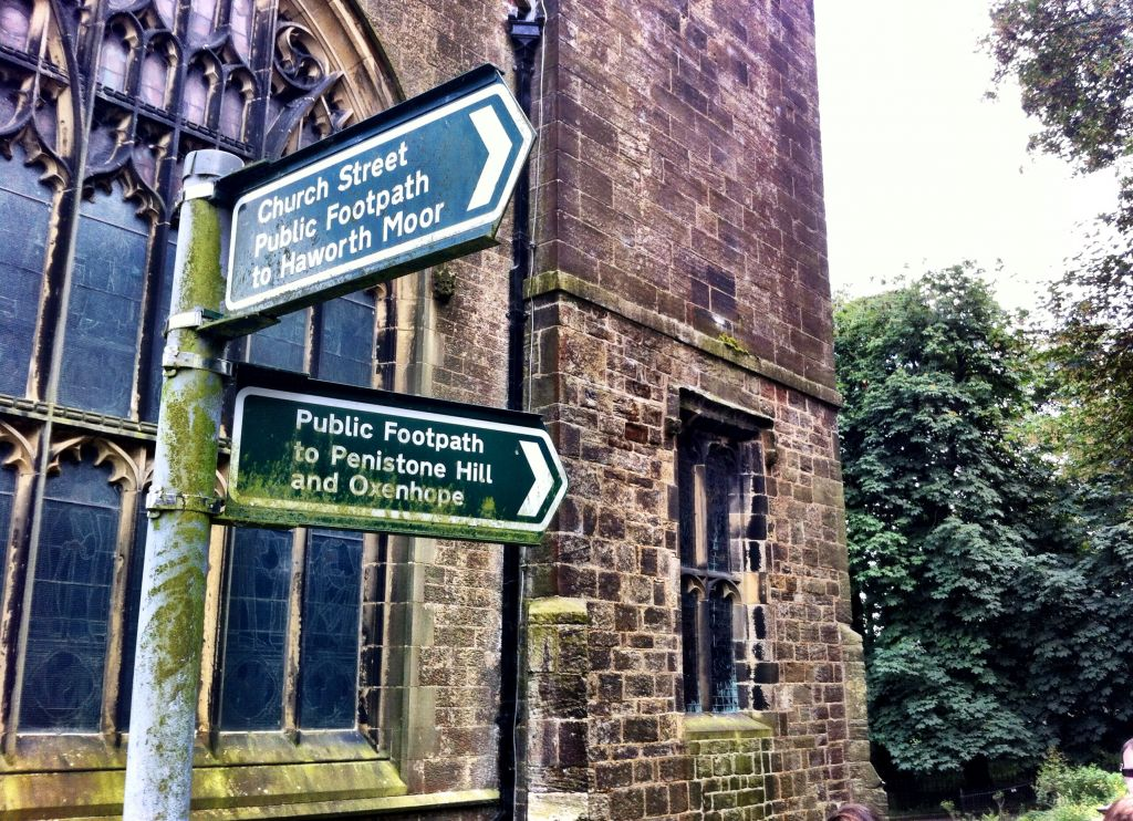 Haworth walking options, Yorkshire
