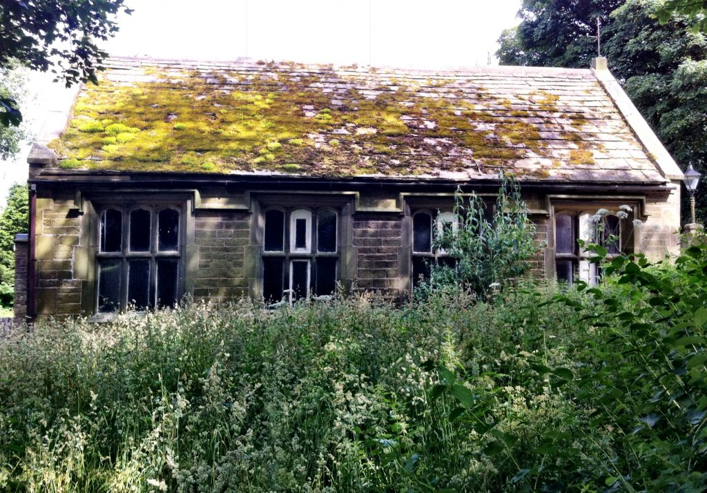 School where Charlotte Bronte taught in Haworth