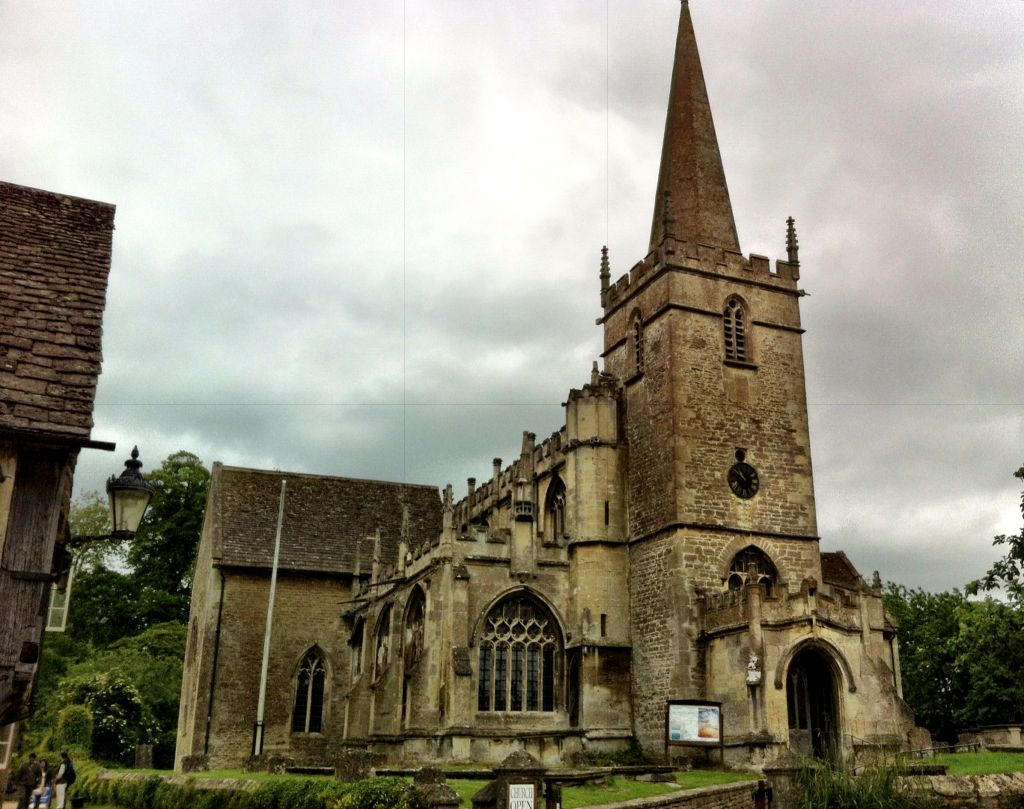 St Cyriac church in Lacock, Wiltshire England