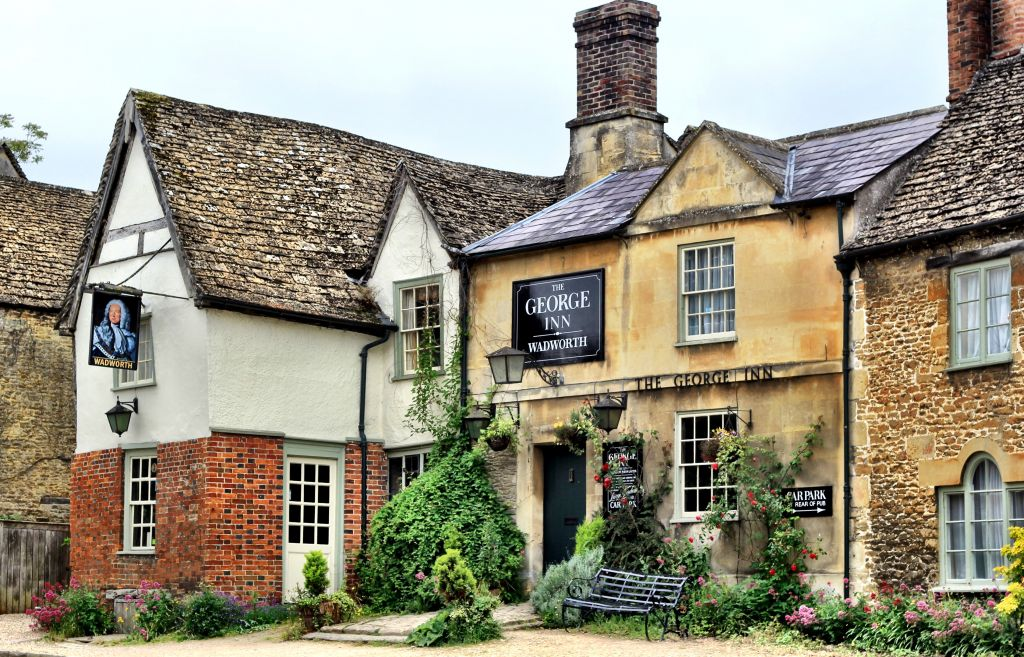 The George Inn at Lacock, England