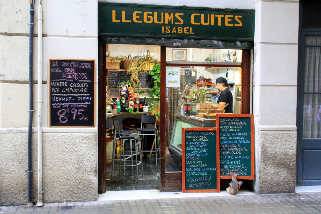 La Botigueta del bon Menjar - Devour Barcelona food tour
