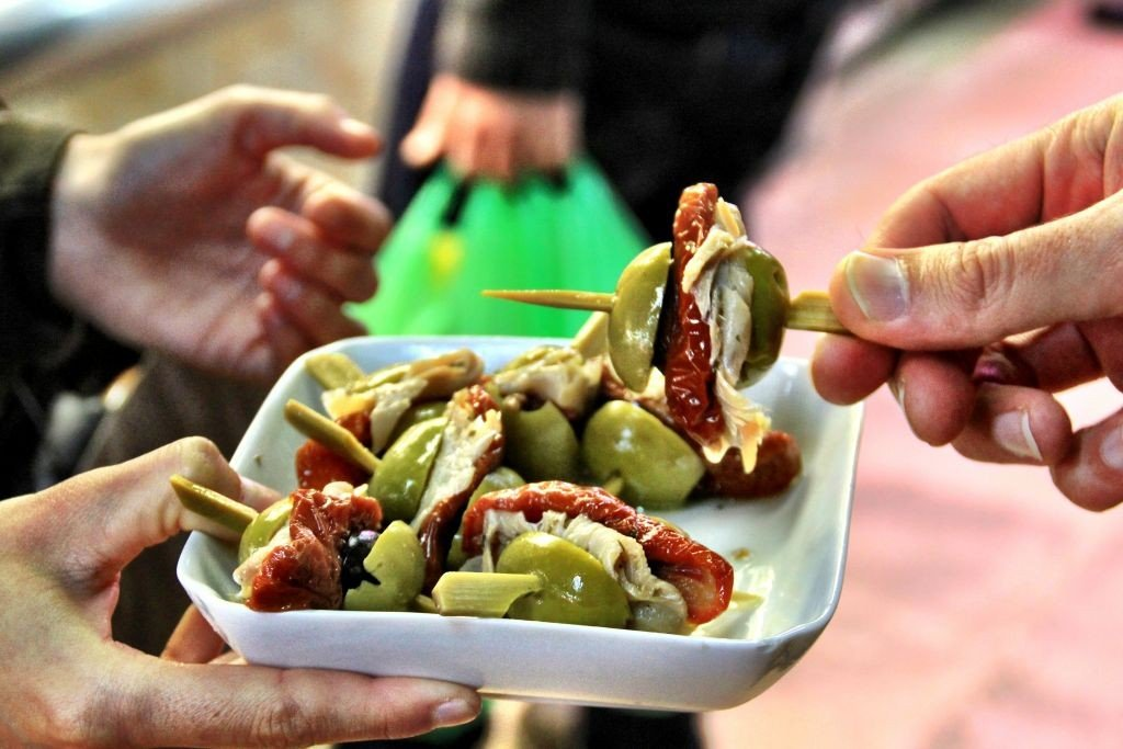 Olives in Barcelona