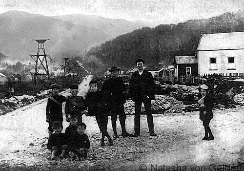 Blackball New Zealand, miners 1908