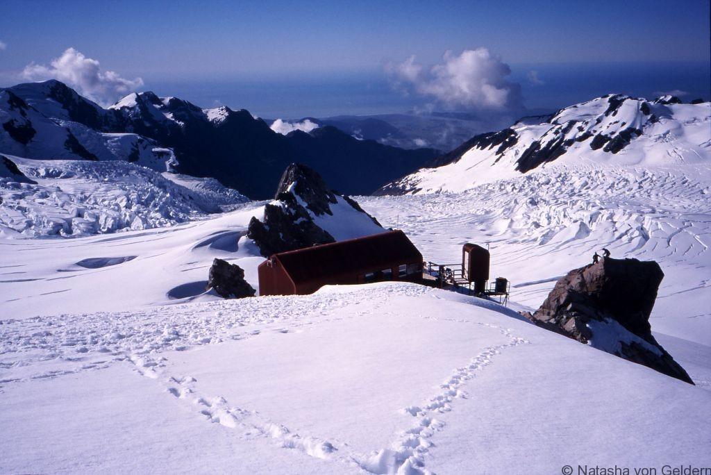 Centennial Hut Franz Josef Glacier New Zealand