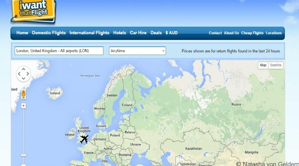 www.iwantthatflight.com.au map