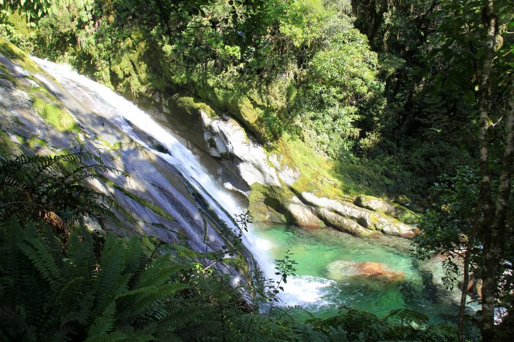 Waterfalls Milford Track New Zealand Photo by Natasha von Geldern