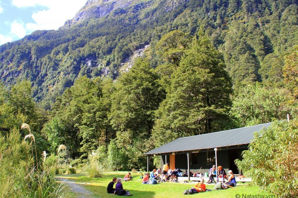 Sutherland Shelter Milford Track New Zealand Photo by Natasha von Geldern