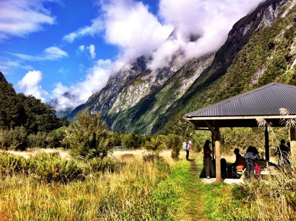 Prairie Shelter Milford Track, New Zealand, Photo by Natasha von Geldern