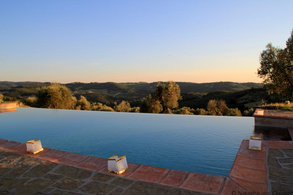Chianti poolside Italy Photo by Natasha von Geldern