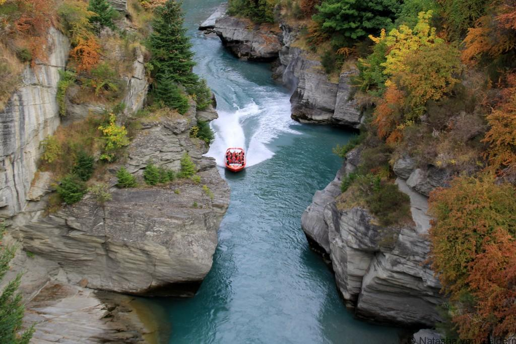 Shotover River jetboating New Zealand Photo by Natasha von Geldern