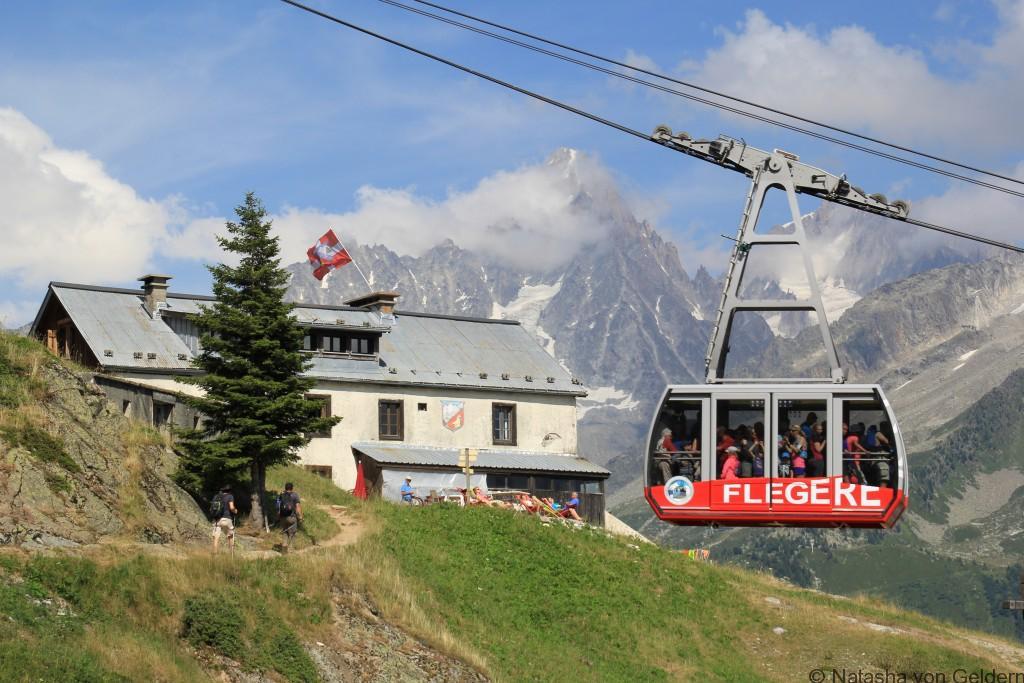 La Flegere refuge, Tour du Mt Blanc