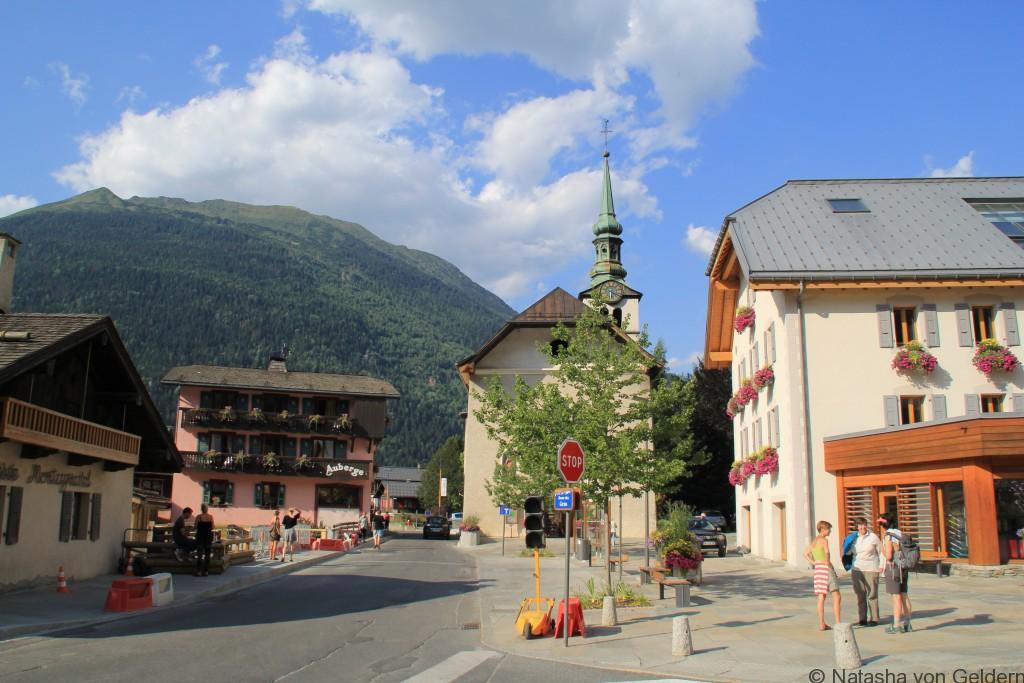 Les Houches, Chamonix TMB