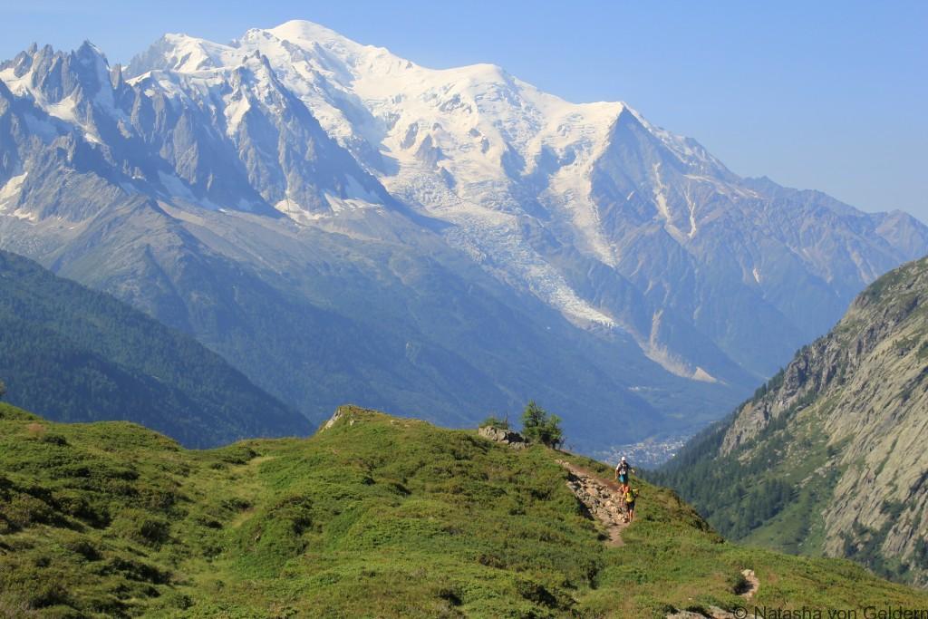 Aiguillettes des Pousettes, Tour du Mt Blanc