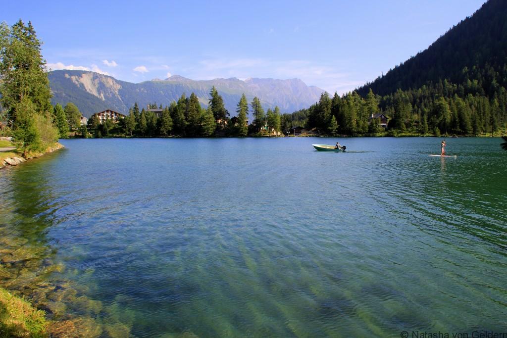 Champex Lac in Switzerland, Tour du Mt Blanc