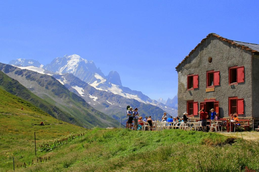 Col du Balme - hiking the Tour du Mt Blanc