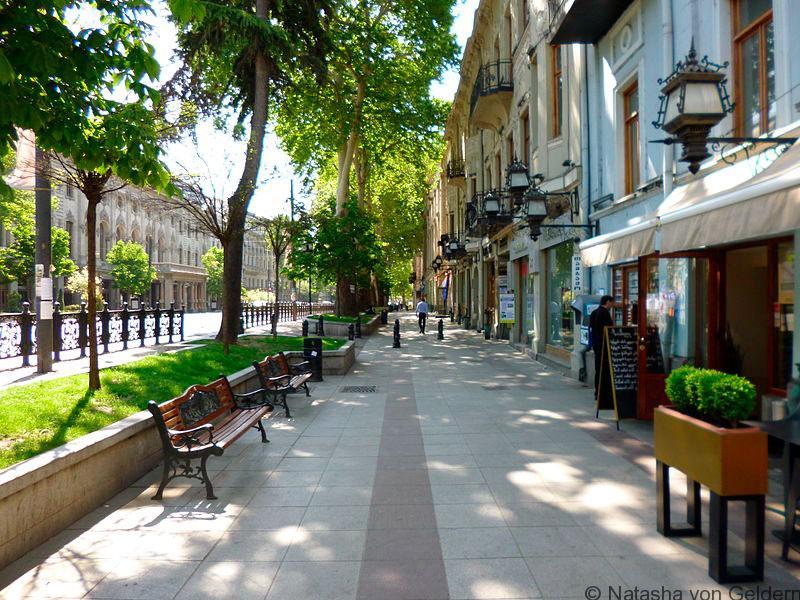 Rustaveli_Avenue, Tbilisi