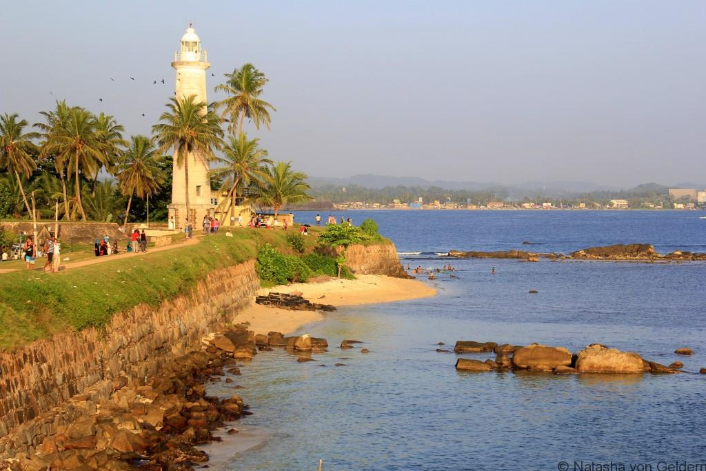 Galle Fort and lighthouse, Sri Lanka