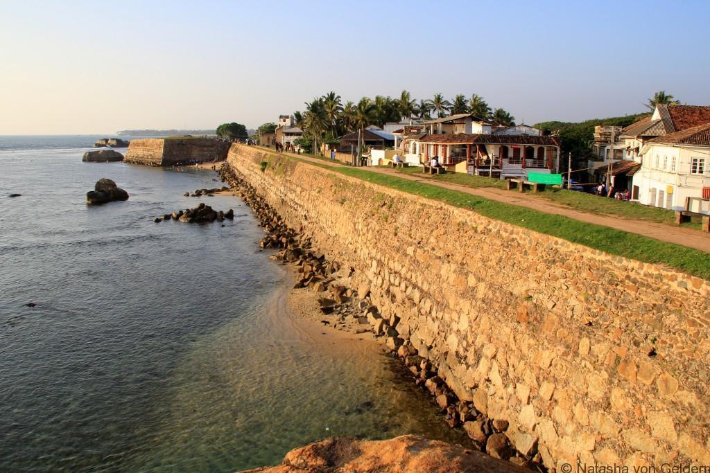 Galle Fort walls, Sri Lanka