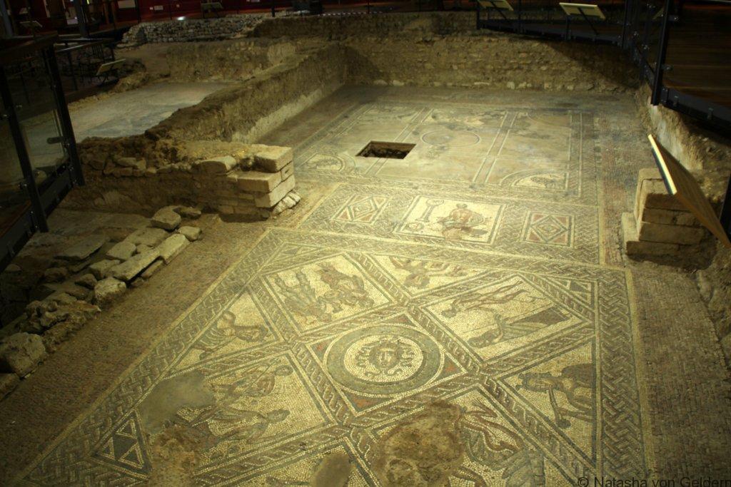 Brading Roman Villa mosaics, Isle of Wight