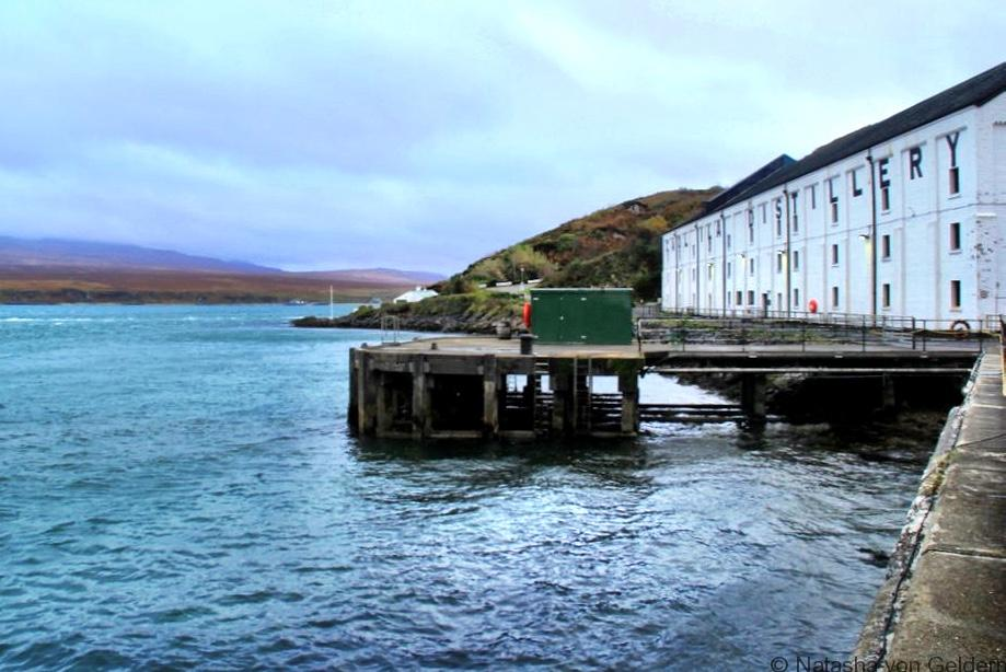 Caol Ila Islay whisky distillery Scotland