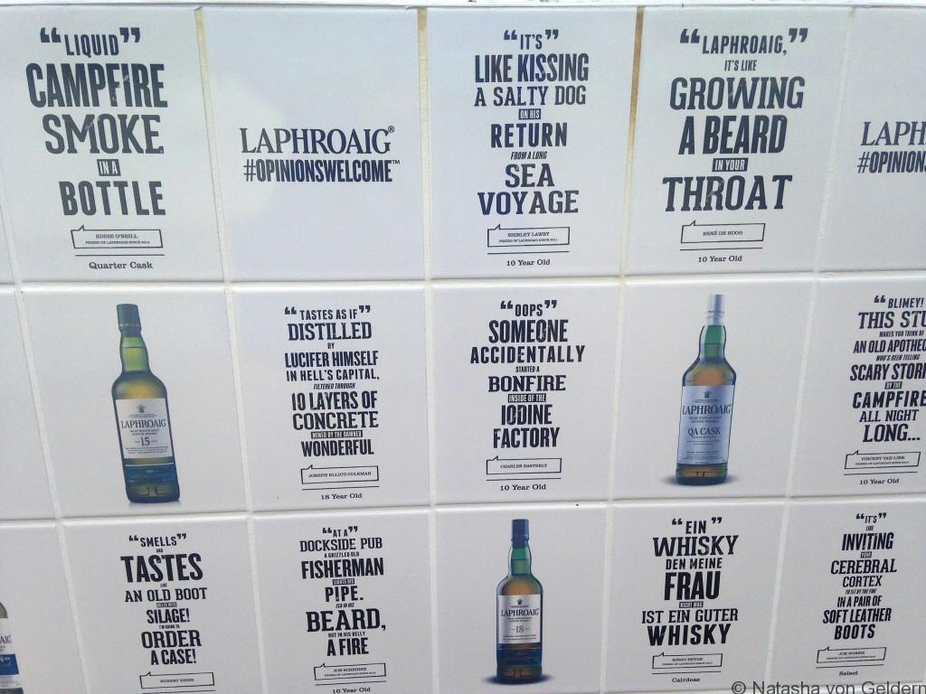 Laphroaig Islay whisky distillery opinions Scotland