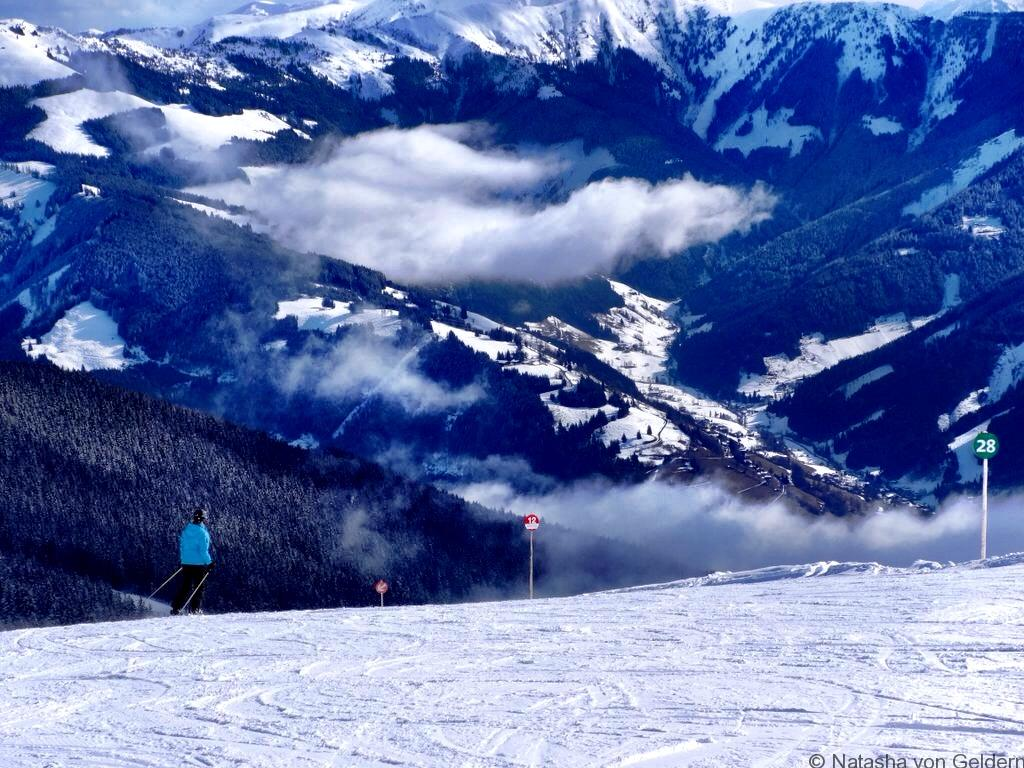 Skiing Zell am See Austria