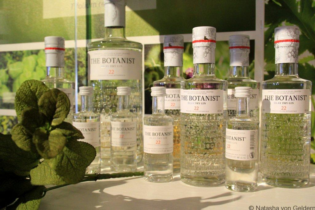 The Botanist gin at Bruichladdich Islay Scotland