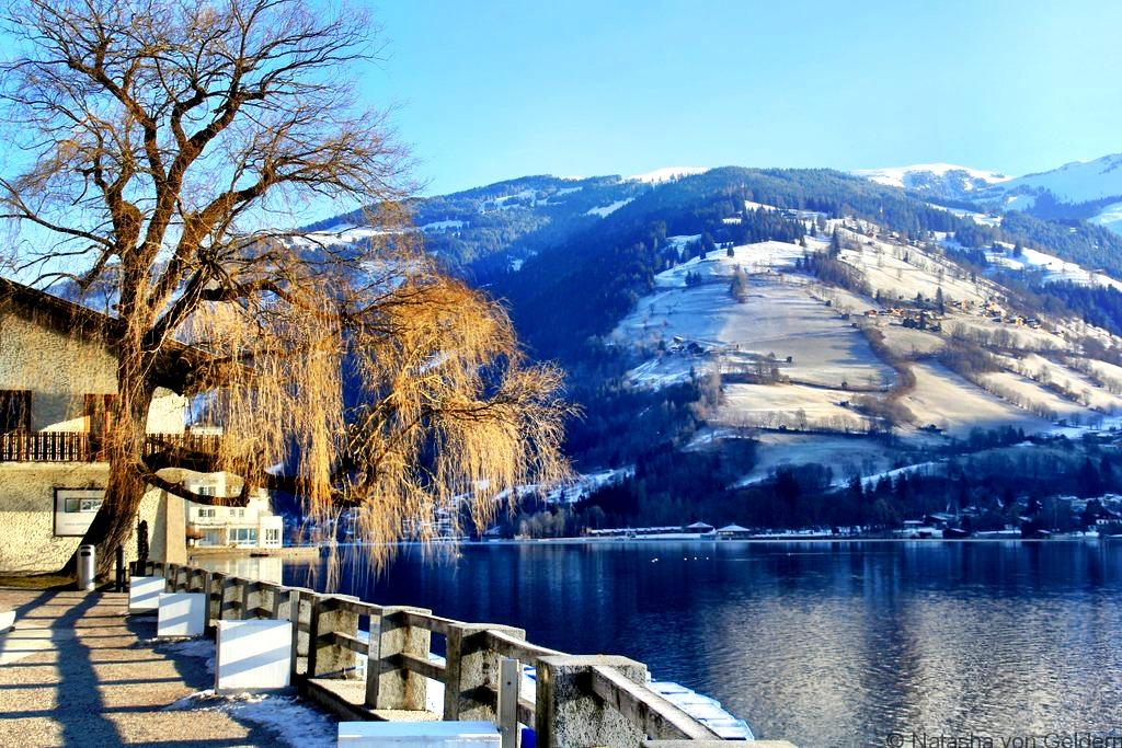 Zell am See lake walk Austria