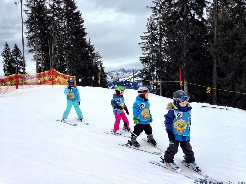 Zell am See ski school Austria