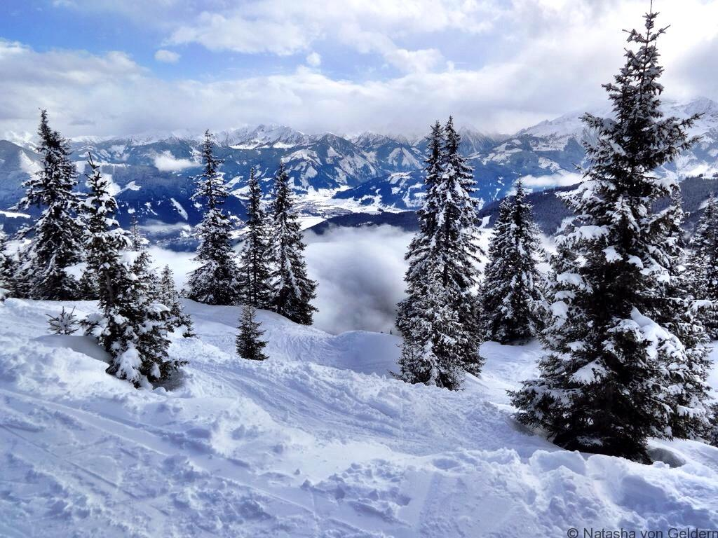 Zell am See winter Austria