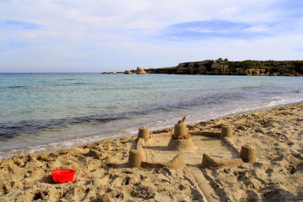 Fontana Bianche beach in Sicily