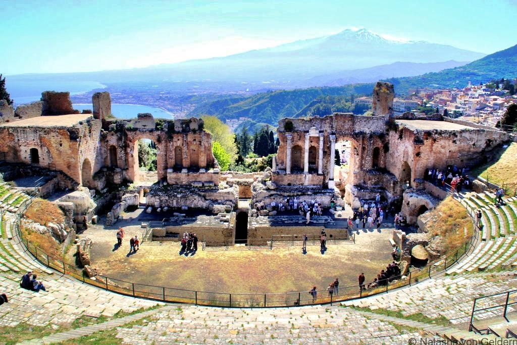 Greek Theatre Taormina Sicily